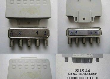 SMART Titanium SUS 44 Diseq - Automatický Satelitný prepínač - Umschalter 4x1 s WSC Boxom