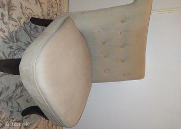 Kreslo béžové , stolička