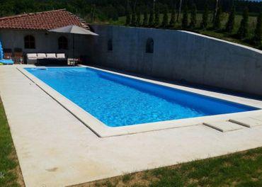 Železobetónový bazén - realizácia komplet na kľúč