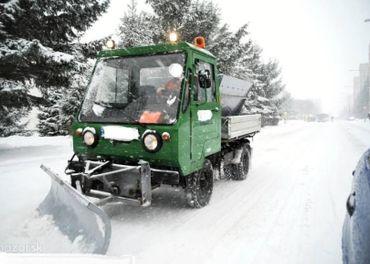 Zimná údržba,odhŕňanie snehu,odvoz snehu - Nitra