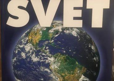 predám geografiu - atlas, nový, SVET