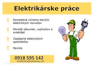 Elektrikárske práce