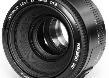 Objektív Yongnuo YN 50mm f/1.8 pre Canon