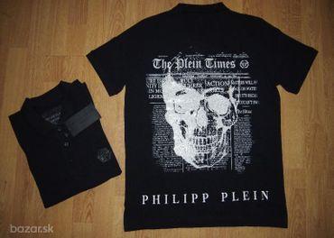Philipp plein pánske polo tričko čierne