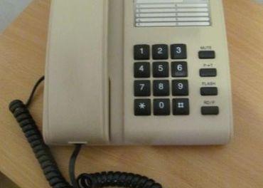RETRO  TLAČIDLOVÝ  TELEFÓN