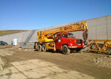 Žeriavnické práce, zemné práce, kamiónová doprava