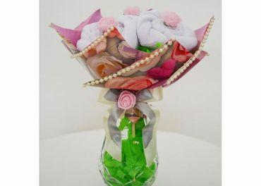Ponožkové kytice