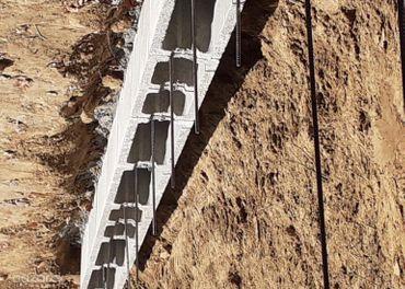 Rucne vykopove prace a oporne muri z DT tvarnic