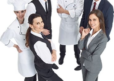 Hotelový personál - Kuchár, Čašník/čka, Chyžná