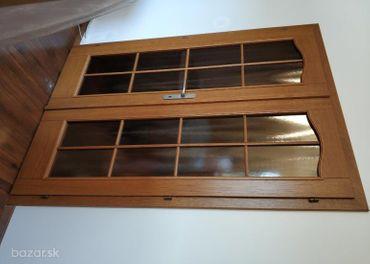 Interiérové drevené dvojkrídlové dvere
