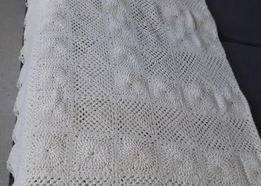 patchwork deka smotan.farby-ručná práca d.180 x š.160cm