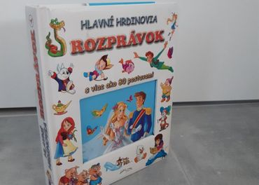 Detská kniha Hlavní hrdinovia rozpárok