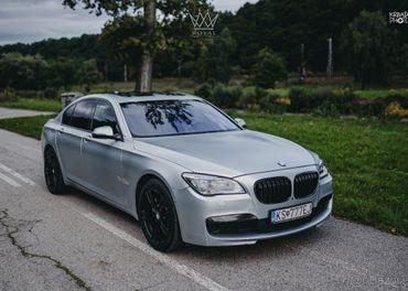 BMW 740d xDrive LCI F01