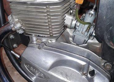 Motor Jawa 638