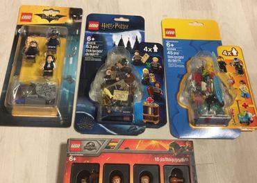 LEGO nové zberatelské minifigúrky - rôzne