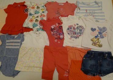 Letné oblečenie pre dievča, veľkosť 68