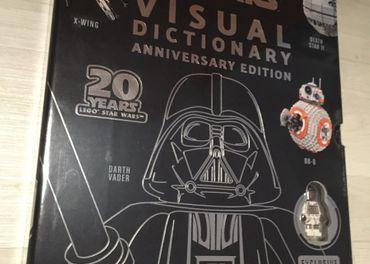 Lego Star Wars 20 Years limitovana kniha+figurka+2 plagaty