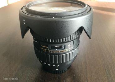 Predám Tokina 11 - 16 2.8 DX II (pre Nikon)