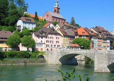 Laufenburg–opatrovanie pri švajčiarskych hraniciac