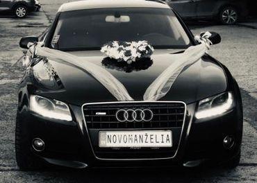 Svadobné vozidlo Audi A5