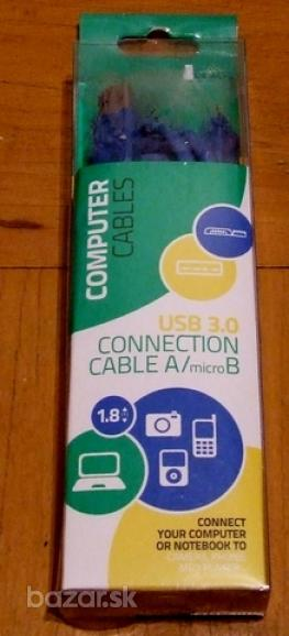 nove prepojovacie kable-rozne