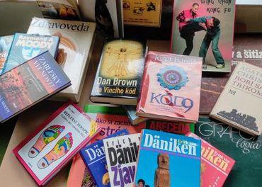 krabica kníh
