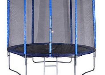 Trampolína 305 cm s ochrannou sieťou a schodíky