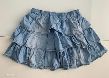 122-Next rara riflová suknička