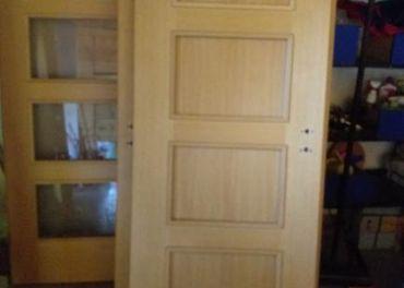 Interierove drevene dvere Sapeli