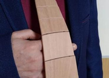 Drevená kravata pre pánov