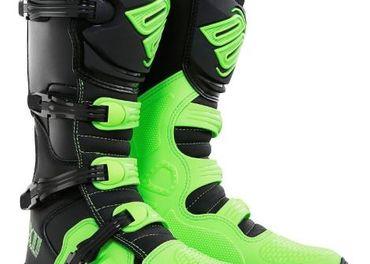 Predám MX SHOT čižmy 11 zelené neon