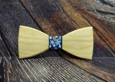 Pánsky drevený motýlik BORA