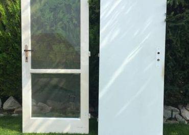 Dvere vnútorné 80 a 70 + biela skrinka lacno