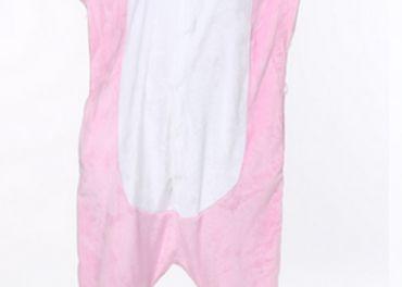 dámske ružové pyžamo jednorožec, M