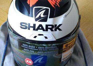 SHARK Race-R Pro Lorenzo Monster MAT KWR XS Black