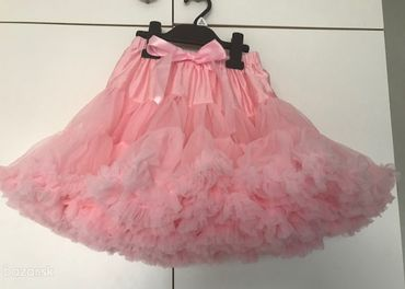 tutu sukne na styl dolly ružová
