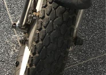 Predám originál pneu na jawa babetta stella 134 mokik