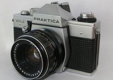 Praktica DTL 3, Pentacon 1,8 / 50 mm