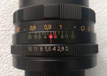 Helios 44M 58mm f2, závit M42