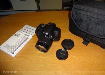 Canon EOS 2000D fotoaparát, digitálna zrkadlovka.