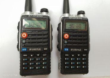 Predám 8 watt vysielačky Baofeng UVB2