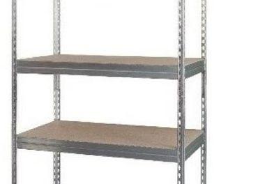 pozinkované regále - 180 a 200 cm, 5 a 6 políc