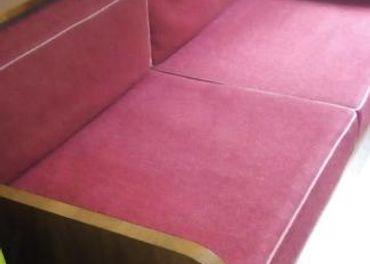 gauč retro dvojlôžkový