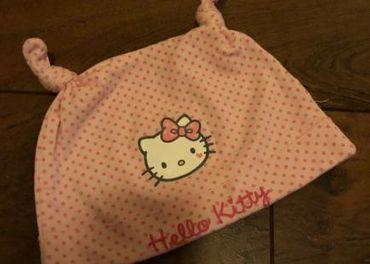 Jesenná alebo jarná čiapka Hello Kitty