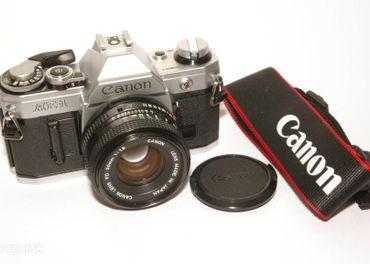 Canon AE1, Canon FD 1,8/50 - TOP stav