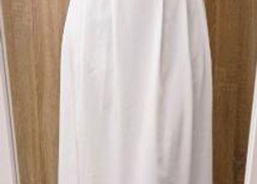 biele spoločenské, svadobné šaty