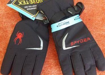 SPYDER chlapčenské goretex rukavice veľkosť12-13