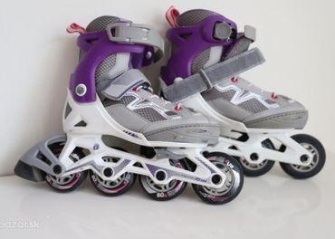 Dievčenské kolieskové korčule 29-32