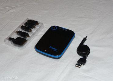 Prenosny USB zdroj (powerbank) 5000mAh + konektory