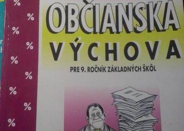 učebnice občianská náuka - 9. ročník